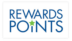 Picture that says reward points