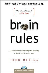 Picture of the book Brain Rules