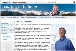 Colorado State Governor's Web Site