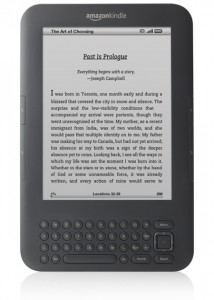 Picture of a kindle