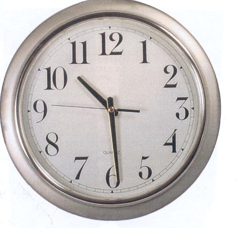 Picture of a wall clock