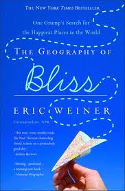 Book Cover of The Geography of Bliss