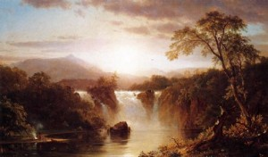 Landscape painting by Frederic Church